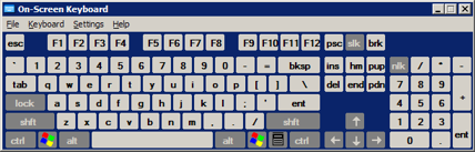 On screen keyboard, a good anti keylogger measure